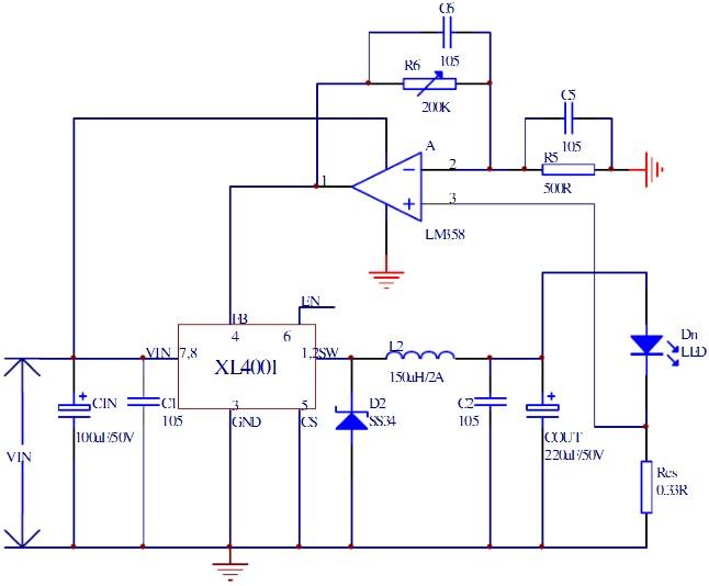 电路原理图如下