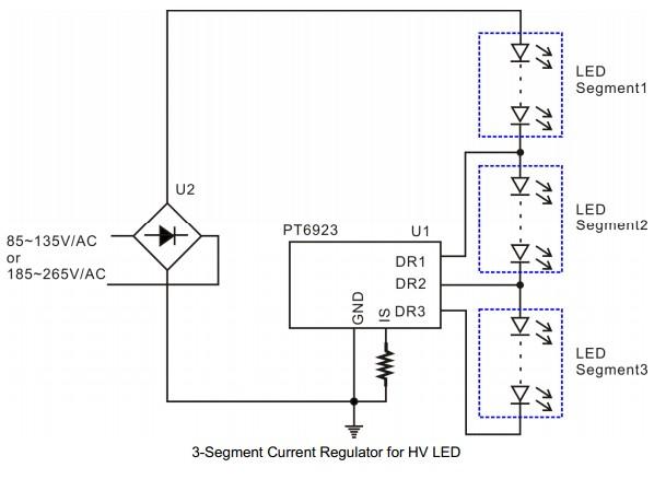 led恒流驱动,t5/t8系列led日光灯管, led球泡灯, led吸顶灯 拓扑