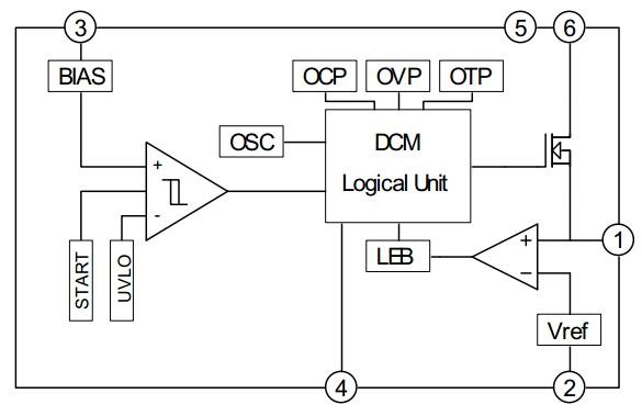 12v射灯变压器电路图