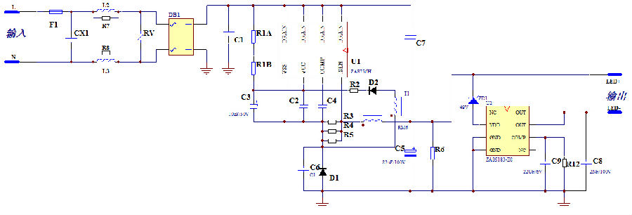 jw3606a应用电路图