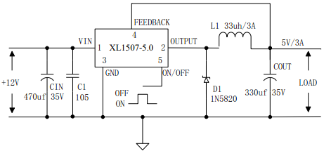 xl1507电路图及参数