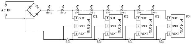 5 典型应用 :  led球泡灯,面板灯,吸顶灯,led日光灯管 兼容型号 :  pt
